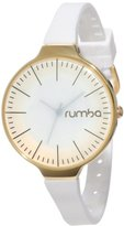 RumbaTime Women's Orchard Gold Snow Patrol Analog Display Japanese Quartz Watch