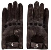Vivienne Westwood Leather Biker Gloves