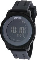 Kenneth Cole Reaction Men's RK1264 Black Silicone Quartz Watch with Dial