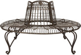 Safavieh Ally Darling Wrought Iron 60.25-Inch W Outdoor Tree Bench