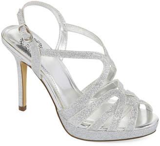 I. MILLER I. Miller Womens Fatemah Pumps Open Toe Stiletto Heel