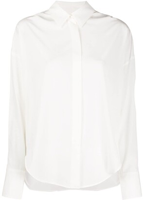 Lorena Antoniazzi Plain Pointed Collar Shirt