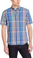 Vintage 1946 Men's Madras Short Sleeve Woven