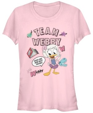 Fifth Sun Women's Duck Tales Team Webby Short Sleeve T-shirt