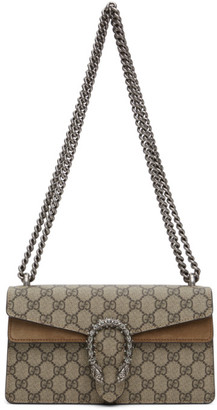Gucci Beige Small GG Dionysus Shoulder Bag
