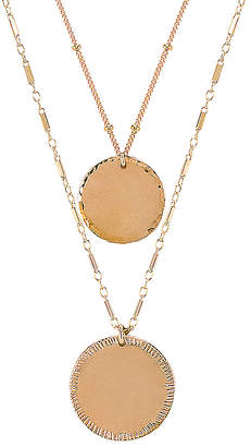 Paradigm Double Coin Necklace