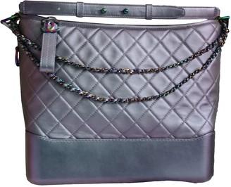 Chanel Gabrielle Metallic Leather Handbags