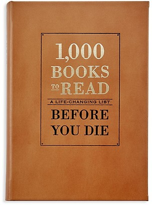 Graphic Image 1,000 Books To Read: A Life-Changing List Before You Die
