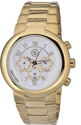 Philip Stein Teslar Philip Stein32-AGW-GSSUnisex WatchAnalogue QuartzWhite DialGold Bracelet Gold