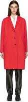 Rag & Bone Red Wool Blankett Coat