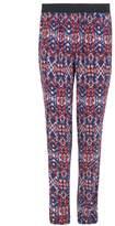 Select Fashion Fashion Womens Multi Flame Aztec Soft Trouser - size 10