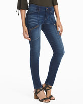 White House Black Market Mid-Rise Skinny Ankle Utility Jeans