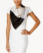 Vince Camuto Spots and Stripes Square Scarf