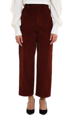 L'Autre Chose Corduroy Cropped Trousers