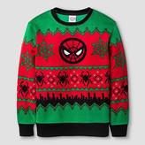 Spiderman Boys' Ugly Christmas Pullover Sweaters - Red