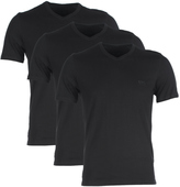 Boss Shirt Ss Vn Bm Black Classic V-neck T-shirt (triple Pack)