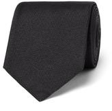 HUGO BOSS 7.5cm Woven Silk Tie - Gray