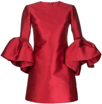 Marques Almeida Ruffle Sleeve Dress