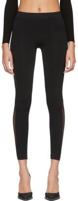 Unravel Black Knit Seamless Leggings