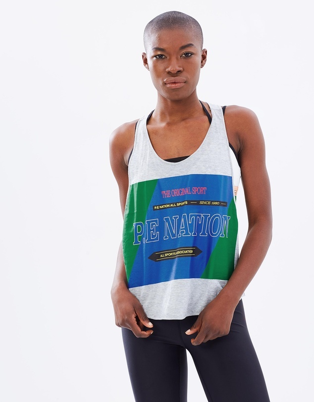 P.E Nation The Countback Cropped Tank