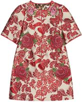 Dolce & Gabbana Cross Stitch Floral Dress