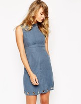 Sister Jane Twilight Warrior Dress with Eyelet Detail