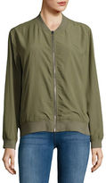 Two By Vince Camuto Washed Soft Bomber Jacket