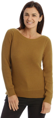 Trent Nathan Multi-Directional Rib Knit Jumper