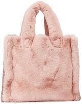 Lolita Medium Faux-Fur Tote Bag