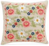 "Vera Bradley Coral Floral 16"" Square Decorative Pillow"