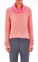 Acne Studios Women's Double-Faced Vasaya Turtleneck Sweater-BEIGE, PINK, NO COLOR