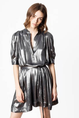 Zadig & Voltaire Retouch Foil Dress