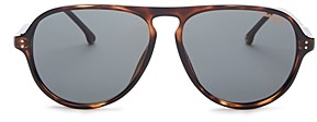 Carrera Men's Polarized Brow Bar Aviator Sunglasses, 67mm