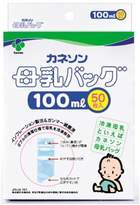 Kaneson 50 pieces breast milk storage bag 100ml [Japan Import] by Kaneson
