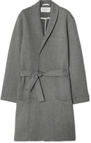 Oliver Spencer Loungewear - Quilted Brushed Cotton-blend Robe