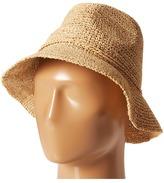San Diego Hat Company RHS3106 Crochet Raffia Bucket Bucket Caps