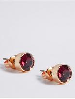 M&S Collection Diamanté Bling Stud Earrings