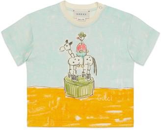 Gucci Baby Isabella Cotier print cotton T-shirt