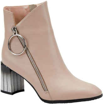 Spring Step Azura by Asymmetrical Leather Boots- Fabulosa