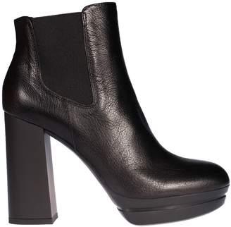 Hogan H391 High Heel Chelsea Boots