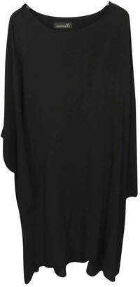 Yohji Yamamoto Black Cotton Dress for Women