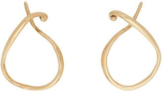 FARIS Gold Vinea Earrings