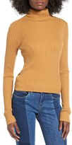 BP Women's Rib Knit Turtleneck Sweater