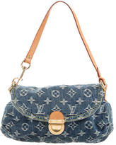 Louis Vuitton Mini Monogram Denim Pleaty Bag