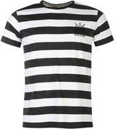 Soulcal Block Yarn Dye T Shirt