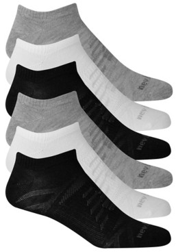 New Balance Flat Knit Men's No Show Socks - 6 Pack