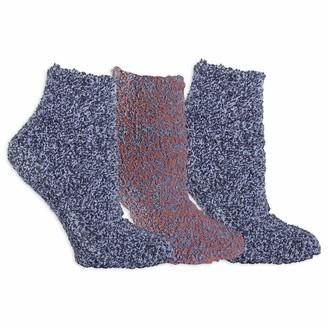 Dr. Scholl's Women's Low Cut Marl Stripes Spa Sock 3 Pair