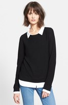 Joie Women's 'Rika' Layered Look Wool & Cashmere Sweater