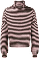 Lanvin Fisherman's rib turtleneck jumper
