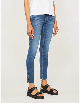 AG Jeans Ladies Dark Blue The Legging Ankle Skinny High Rise Jeans